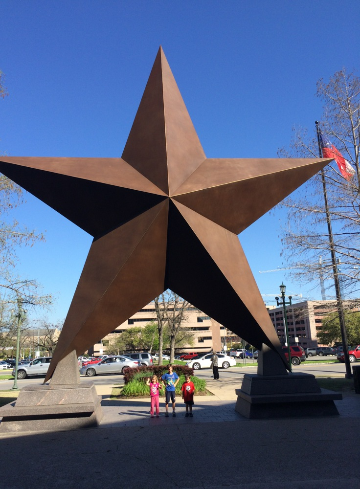 A big Texas star